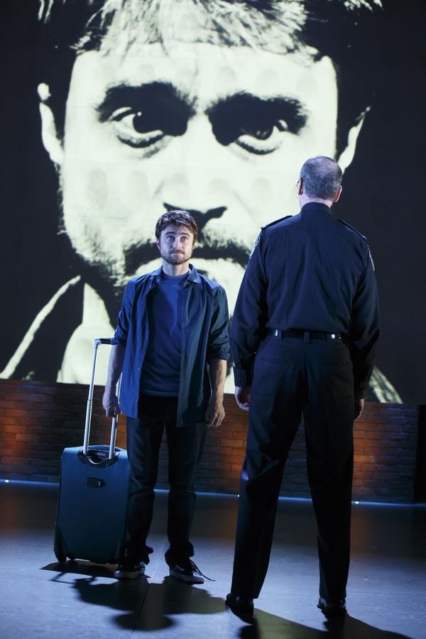Daniel Radcliffe and Michael Countryman