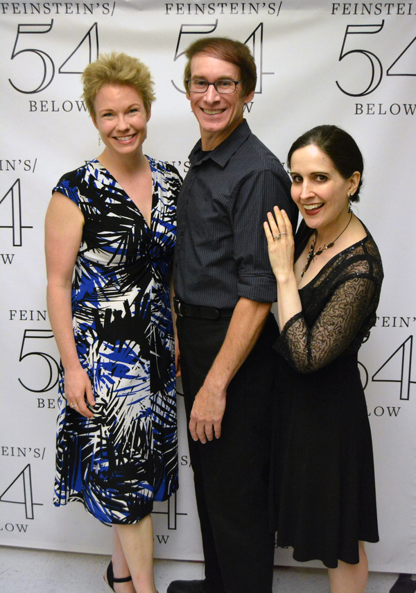 Jennifer Barnhart, Rick Lyon, and Stephanie D'Abruzzo