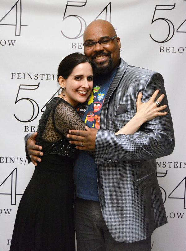 Stephanie D'Abruzzo & James Monroe Iglehart