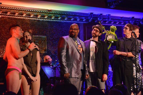 Nick Cearley & Lauren Molina, James Monroe Iglehart, Max Crumm, & Rick Lyon
