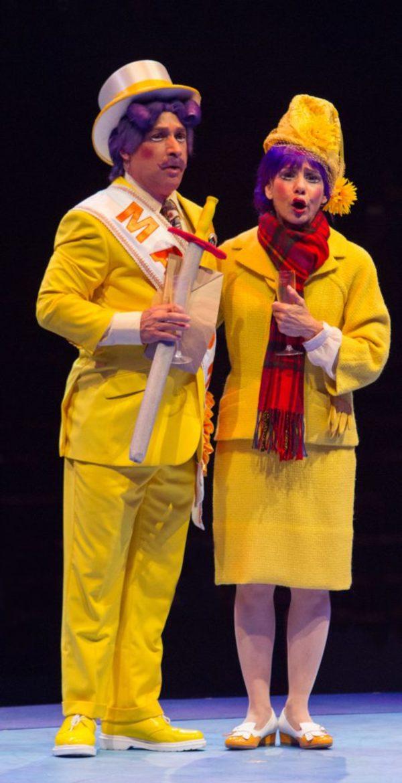 Jamie Torcellini and Eydie Alyson