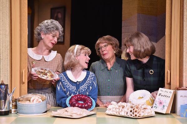 Licia Watson, Lindsay Sutton, Karen Pappas and Dawn Trautman