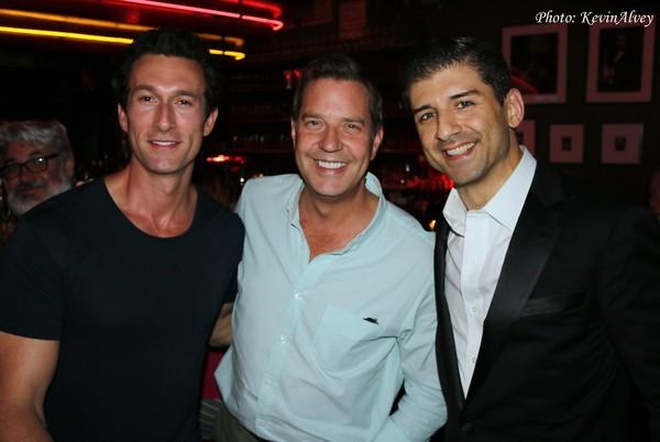 Aaron Lazar, Steven Reineke and Tony Yazbeck