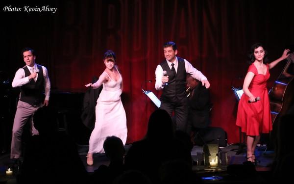 Clyde Alves, Katie Huff, Tony Yazbeck and Melinda Sullivan
