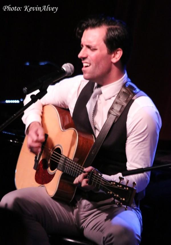 Photo Flash: Tony Yazbeck Celebrates THE FLOOR ABOVE ME Solo Album at Birdland