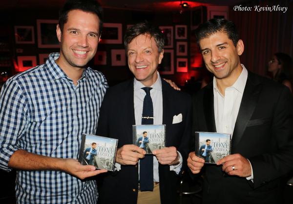 David Osmond, Jim Caruso and Tony Yazbeck