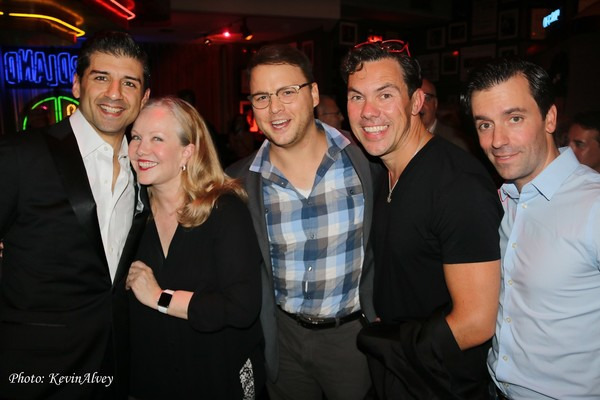 Tony Yazbeck, Susan Stroman, Howard Emanuel, James Gray and Clyde Alves