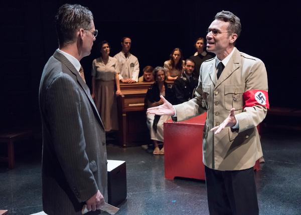 Michael Kaye (Halder) and Adam Ludwig (Eichmann) Photo
