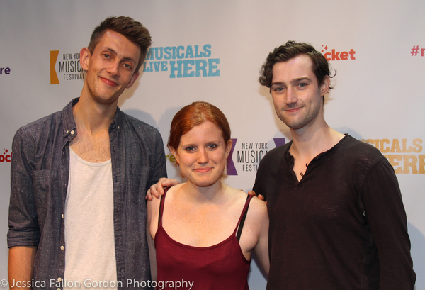 Scott Gilmour, Claire McKenzie and Will Connolly