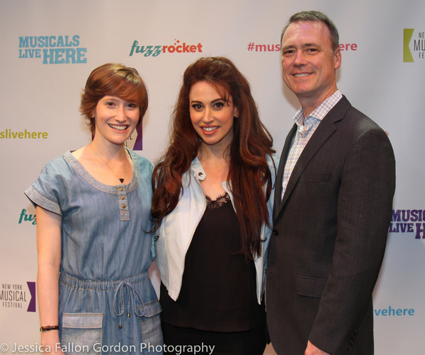 Rachel Sussman, Lesli Margherita and Dan Markley