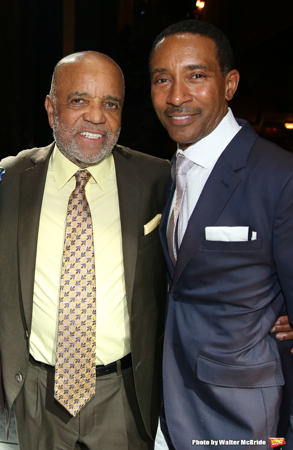 Berry Gordy and Charles Randolph-Wright