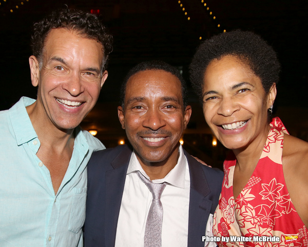 Brian Stokes Mitchell, Charles Randolph-Wright and Allyson Tucker