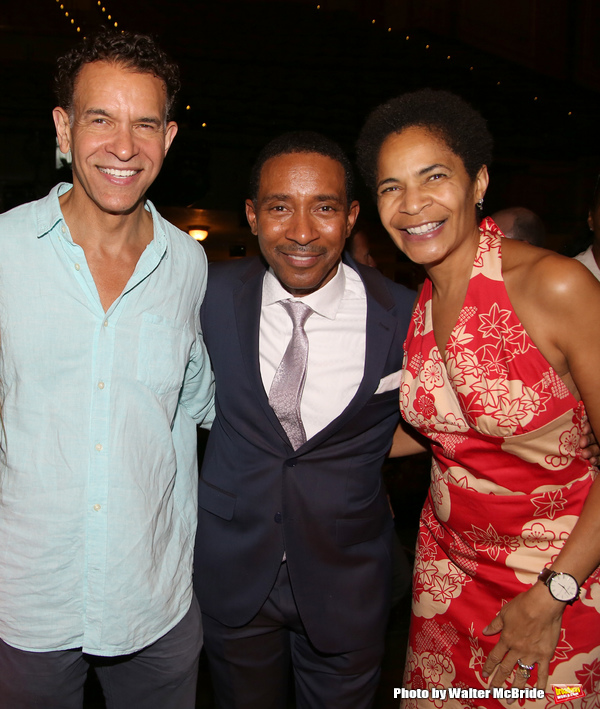 Charles Randolph-Wright, Brian Stokes Mitchell and Allyson Tucker