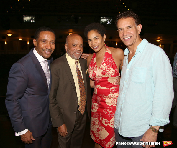 Charles Randolph-Wright, Berry Gordy, Allyson Tucker and Brian Stokes Mitchell