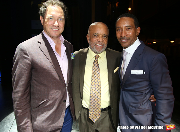 Kevin McCollum, Berry Gordy and Charles Randolph-Wright