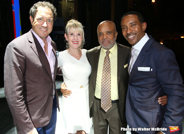 Kevin McCollum, Patricia Wilcox, Berry Gordy and Charles Randolph-Wright  Photo