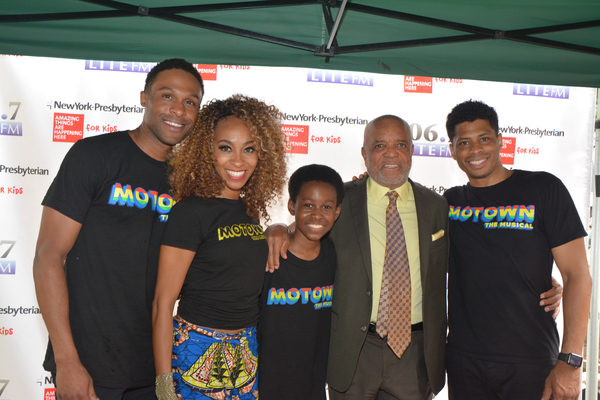 Jarran Muse, Allison Semmes, J.J. Batteast, Berry Gordy and Chester Gregory