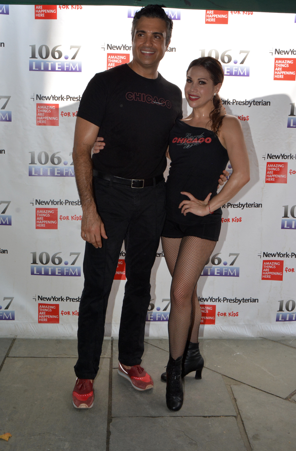 Bianca Marroquin and Jamie Camil Photo