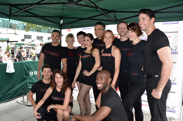 Photos: Casts of MOTOWN, CHICAGO & More Return to Broadway in Bryant Park!