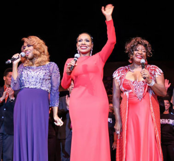 Jennifer Holliday, Sheryl Lee Ralph and Loretta Devine