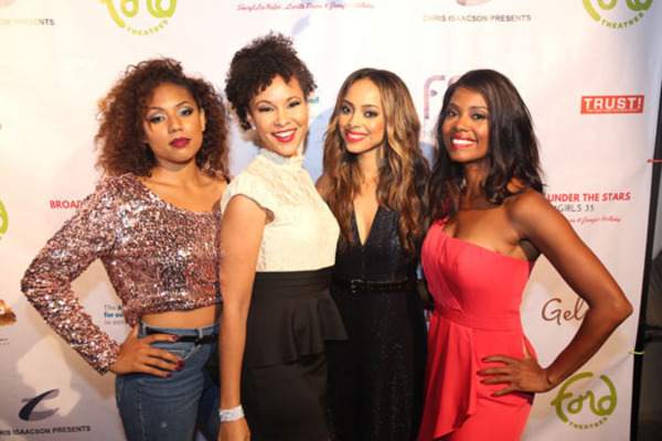 Liisi LaFontaine, Natalie Wachen, Amber Stevens West and Annette Moore
