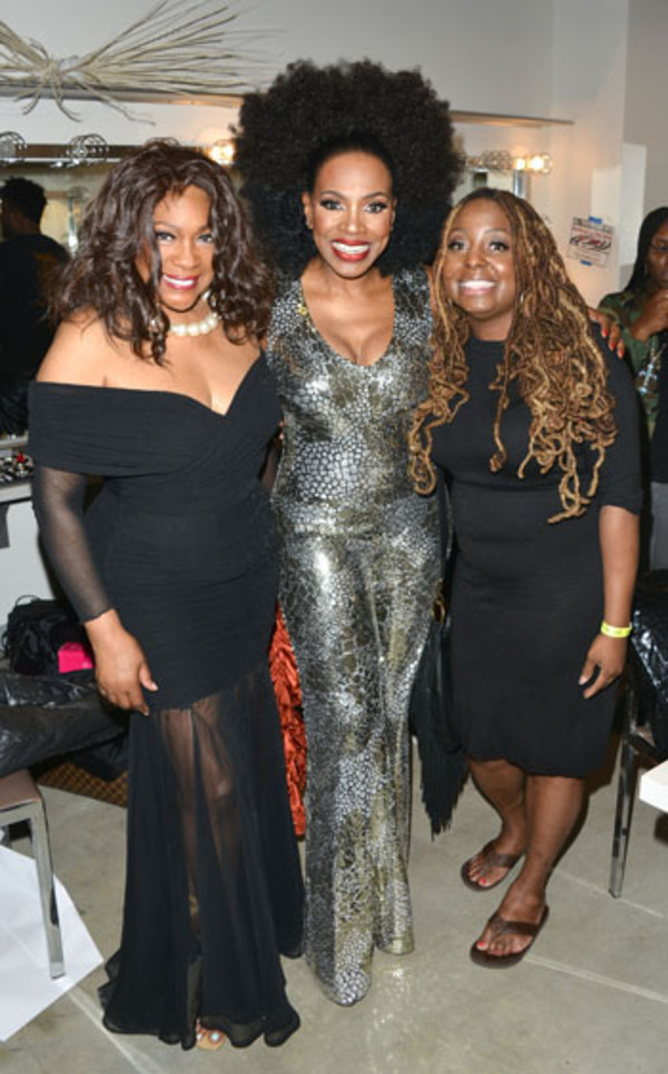 Mary Wilson, Sheryl Lee Ralph and Ledisi
