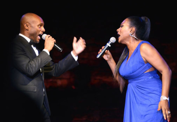 Kenny Lattimore and Sheryl Lee Ralph
