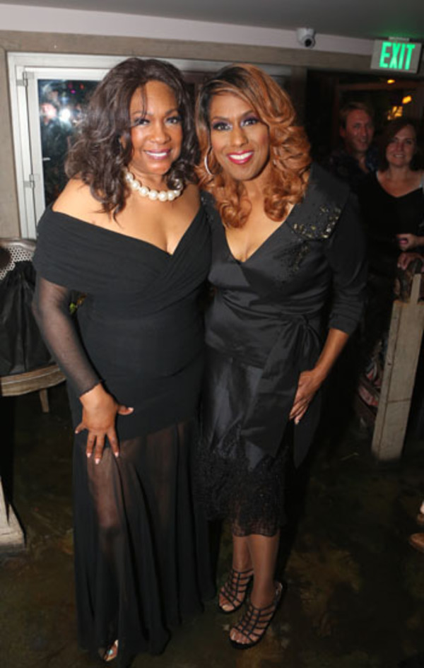 Mary Wilson and Jennifer Holliday