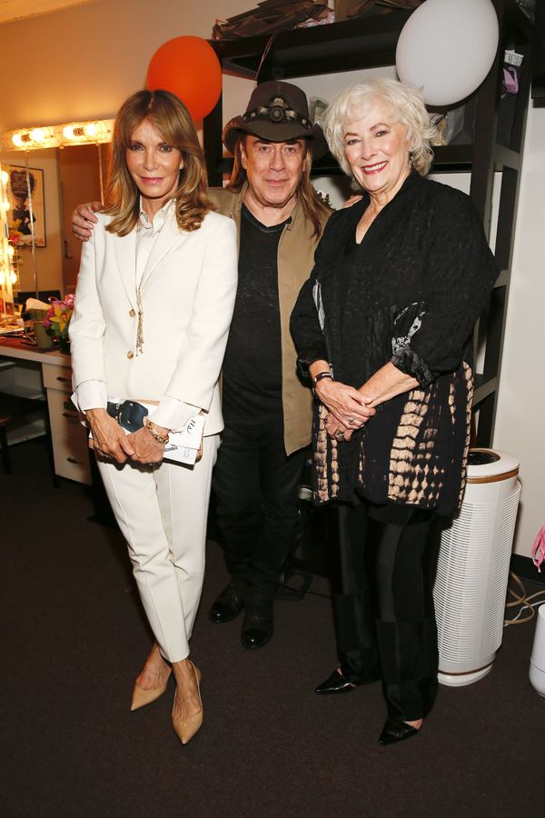 Jaclyn Smith, Jose Eber and Betty Buckley