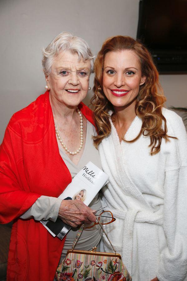 Angela Lansbury and Rachel York