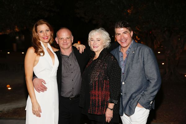 Rachel York,  Michael Wilson, Betty Buckley and Bryan Batt