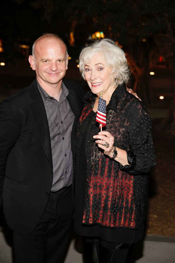 Michael Wilson and Betty Buckley