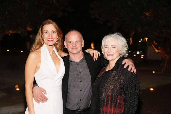 Rachel York,  Michael Wilson and Betty Buckley