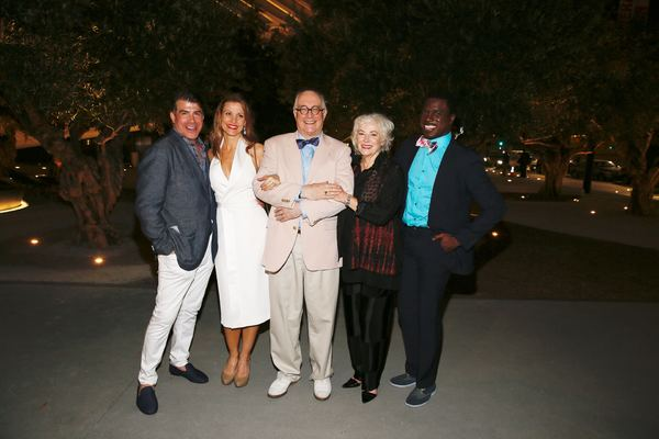 Bryan Batt, Rachel York, Simon Jones, Betty Buckley and Davon Williams