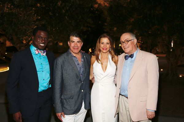 Davon Williams, Bryan Batt, Rachel York and Simon Jones