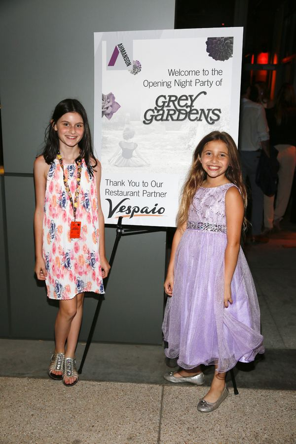 "From left, cast members Katie Silverman and Peyton Ella at the party after the opening night performance of ""Grey Gardens"" The Musical at Center Theatre Group/Ahmanson Theatre on Wednesday, July 13, 2016, in Los Angeles, California. (Photo by Ryan Miller/"