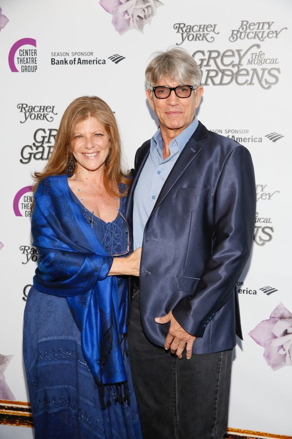 "From left, actors Eliza Roberts and Eric Roberts arrive for the opening night performance of ""Grey Gardens"" The Musical at Center Theatre Group/Ahmanson Theatre on Wednesday, July 13, 2016, in Los Angeles, California. (Photo by Ryan Miller/Capture Imaging"
