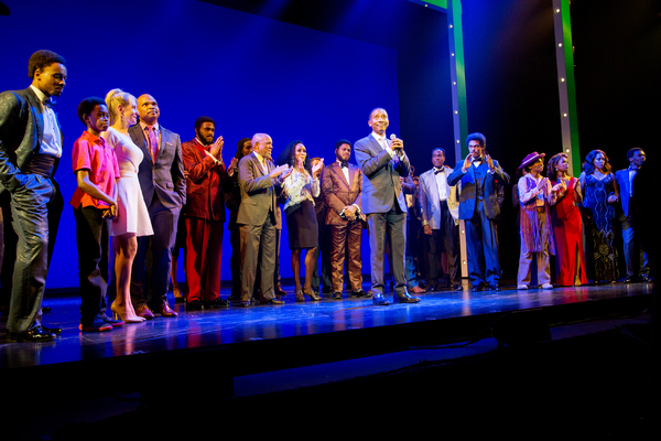 Photo Coverage: They're Back! Berry Gordy Helps MOTOWN Celebrate Broadway Return