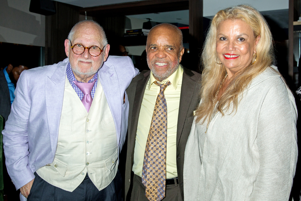 Shelly Berger, Berry Gordy, Suzanne de Passe