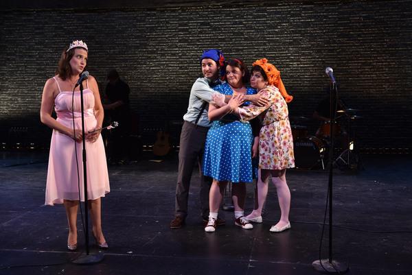 Clara D'Onofrio, David Lipschutz, Kimberly Lawson and Sarah Wurz. Photo: Michael Courier