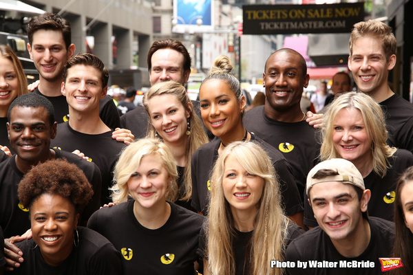 Leona Lewis and cast
