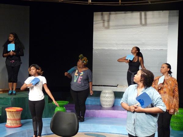 Photo Flash: In Rehearsal with 'DA KINK IN MY HAIR at Horizon Theatre