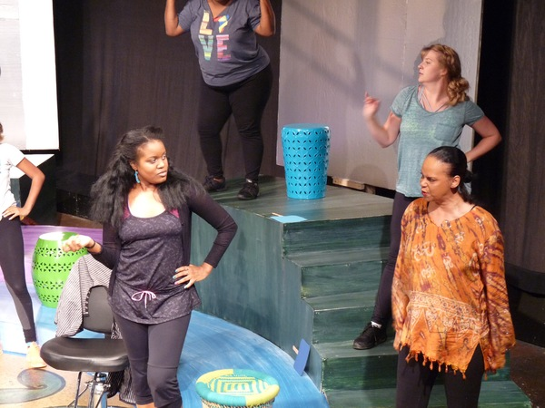 Photos: In Rehearsal with 'DA KINK IN MY HAIR at Horizon Theatre