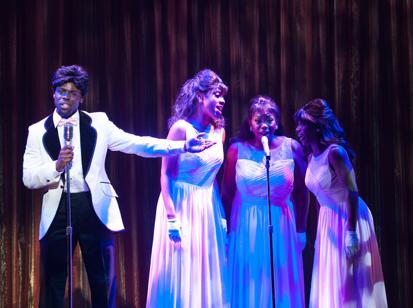 D. Jerome Wells, Zuri Washington, Desirée Roots, and Felicia Curry. Photo by Aaron Sutten.