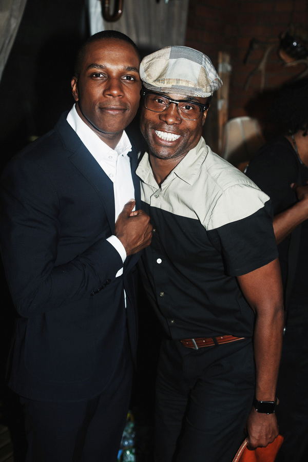 Leslie Odom Jr. and Billy Porter
