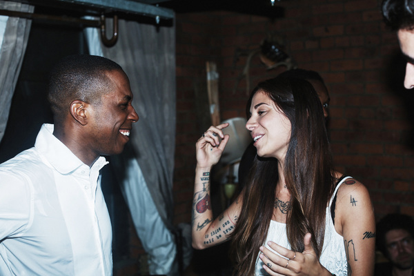 Leslie Odom Jr. and Christina Perri