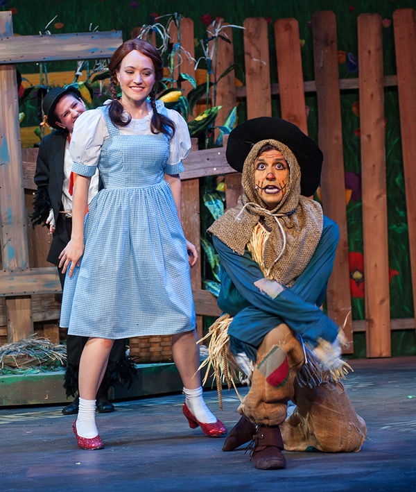 Photo Flash: First Look at THE WIZARD OF OZ at Rivertown Theaters