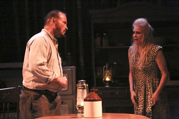 Brian Burke and Susan Priver