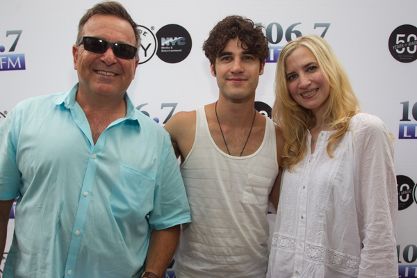 Photo Flash: Broadway in the Boros With Cast of BEAUTIFUL and Surprise Guest Darren Criss