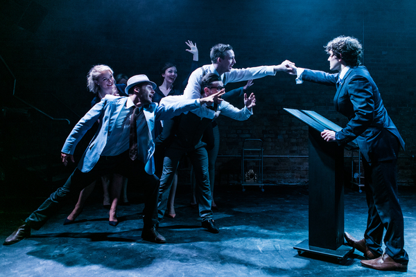 Photo Flash: First Look at Fra Fee and More in THE FIX at Union Theatre